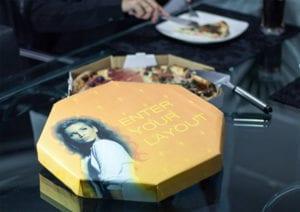 Advertising on Pizza Boxes - define guerilla marketing