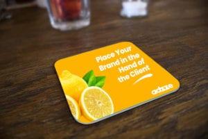 Drink Coaster Advertising