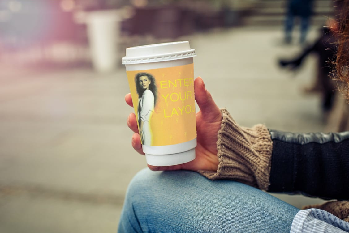 Coffee Cup Ad