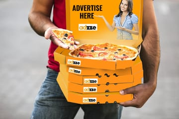 Pizza Box Advertising Ideas