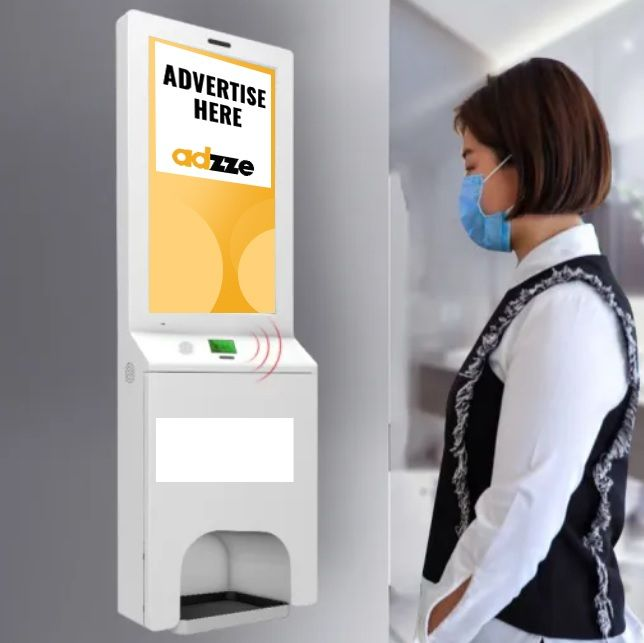 Ads on Sanitizing Displays