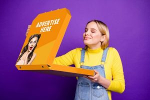 pizza boxes Ad